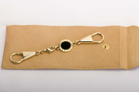 Bvlgari 18k Yellow Gold Key Ring