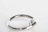 Authentic CARTIER Entrelaces 18k White Gold Twist Knot Ring