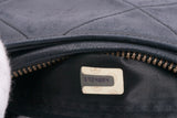 Authentic CHANEL Lambskin Leather Tassel Shoulder Handbag