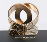 Authentic Chanel Tension Cuff Bracelet