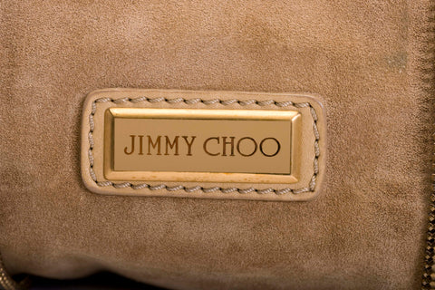 Jimmy Choo Expendable Flap Leather bag