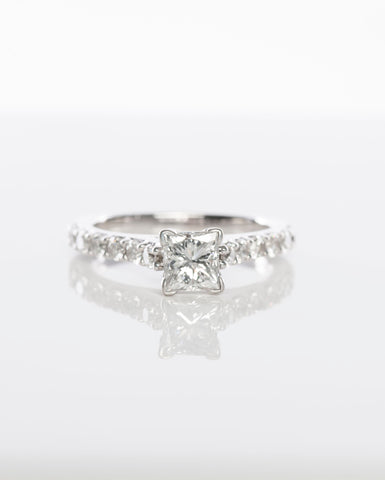 1.35CT Diamond Engagement Ring
