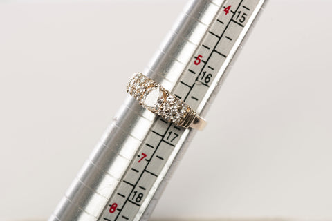 Unique GIA GRADED 14K Diamond Engagement Ring (w/ Appraisal)