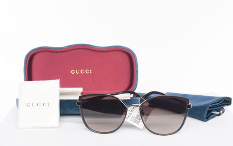 Authentic Ladies GUCCI GG0589SK Cat-Eye GG Sunglasses
