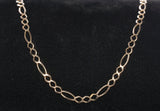 "10k Yellow Gold FIGARO Link 25.5"" Chain"