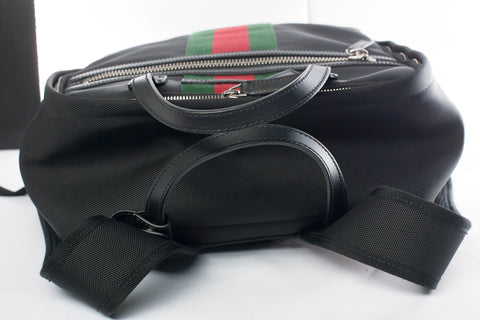 Authentic GUCCI Techno Canvas Backpack
