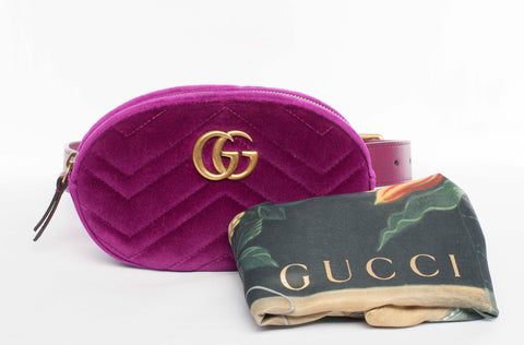 Authentic Gucci GG Marmont Belt Bag / Fanny Pack / Crossbody