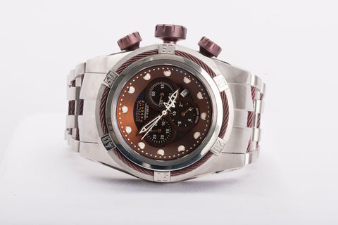 Invicta BOLT ZEUS 0824 Quartz Writs watch Brown Dial Retail 3