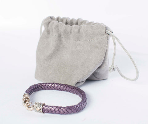 Authentic Jai by John Hardy Plum Braided Bracelet