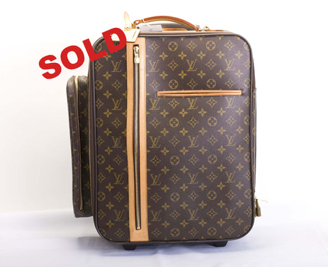 Louis Vuitton Monogram Trolley 50 Bosphore Travel Bag
