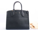 Authentic Louis Vuitton Handbag Leather City Steamer MM Handbag