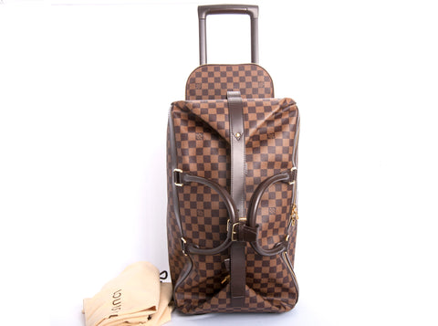 Authentic Louis Vuitton Eole 50 Rolling Luggage Bag with Receipt