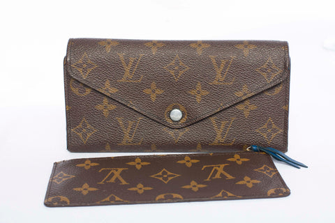 Authentic Louis Vuitton Josephine Wallet (blue)
