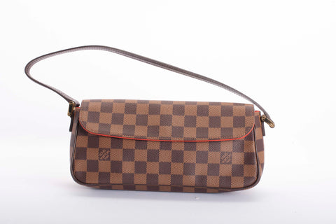 Authentic LOUIS VUITTON Damier Ebene Recoleta Handbag
