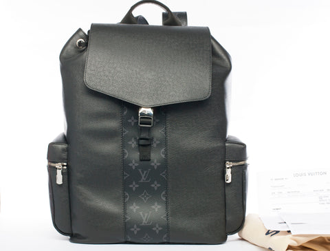 Authentic LOUIS VUITTON Outdoor Monogram and Tiaga Leather Backpack MINT