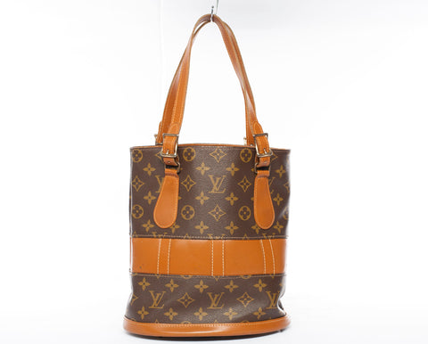 Louis Vuitton French Company Vintage Bucket Bag w/ COA