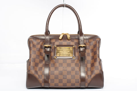 Authentic Louis Vuitton Damier Ebene Berkeley Satchel