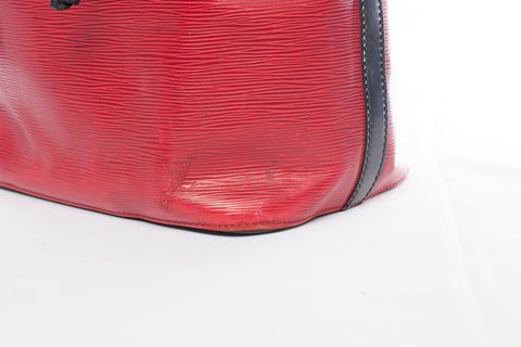 Authentic Louis Vuitton BioColor Red Epi Noe PM