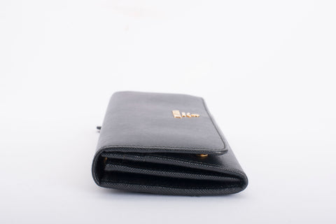 Authentic PRADA Saffiano Leather Continental Wallet