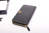 Prada 1ML506 Vitello Zip Around Leather Wallet