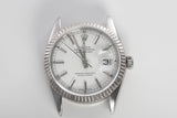 ROLEX Datejust Ref 16014 Quick Set Sapphire Crystal Automatic Watch Head