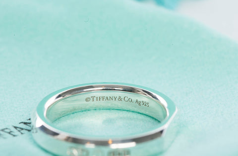 Authentic TIFFANY & CO 1837 Makers Slice Ring