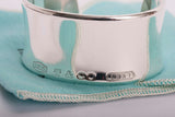 TIFFANY & Co. Sterling 1837 Wide Cuff Bangle Bracelet Ret. 50. MINT
