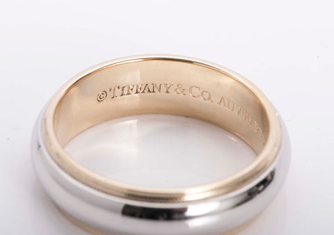 Tiffany & Co. Atlas Silver Bangle Bracelet