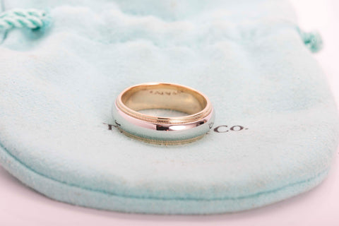 Tiffany & Co. Platinum/Gold Band