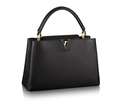 New Louis Vuitton Capucines MM Noir