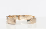 10k Yellow Gold Diamond Buckle Fashion Bracelet