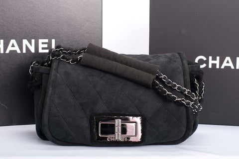Auth Chanel Reissue Quilted Flap Bag with COA