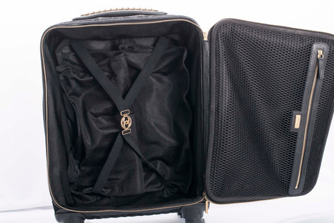 Authentic Chanel Camellia Coco Case Trolley Rolling Luggage LIMITED EDITION