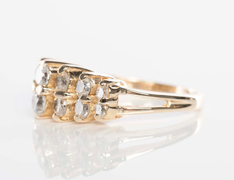 14K Yellow Gold .50CTW Diamond Band