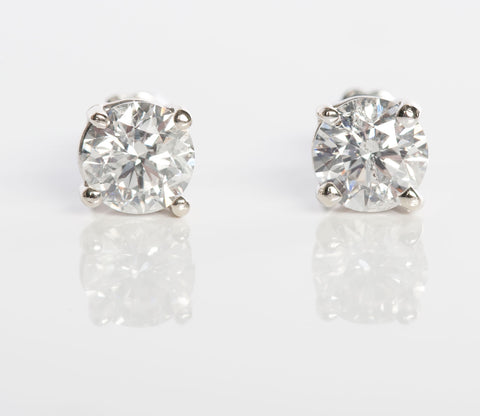 1.50CTW Diamond Stud Earrings