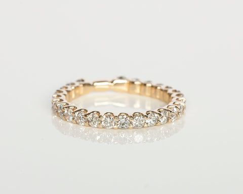 1.00 tcw 14k Yellow Gold Diamond Eternity Ring
