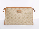 Authentic Vintage Dior Honeycomb Leather Clutch