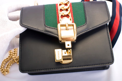 red green gold black sylvie gucci
