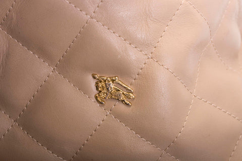 Burberry Quilted Leather 'hoxton' Hobo