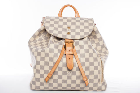 Authentic Louis Vuitton Damier Azur Sperone Backpack
