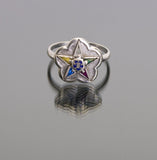 Eastern Star Ring Antique women's ring