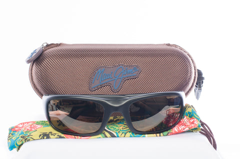 Maui Jim Stingray Polarized Wrap Sunglasses MJ-103-2M