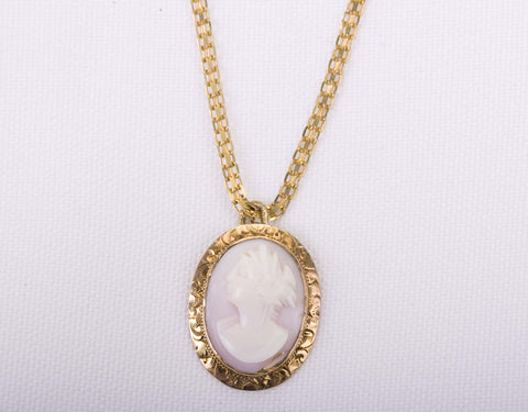 Vintage 14K Yellow Gold Pendant