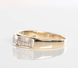 14k Yellow Gold 1.04tcw Diamond Band with Report!