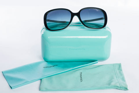 Authentic Tiffany & Co Blue Square Sunglasses TF-4137