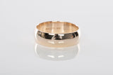 14K Yellow Gold 5.5mm Wedding Band Ring