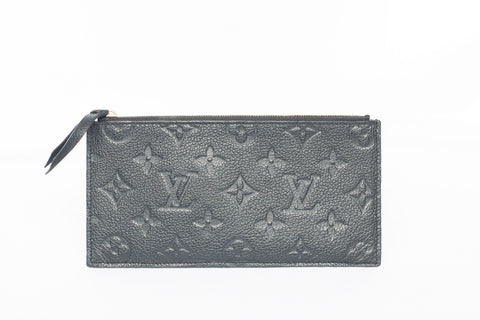 Louis Vuitton Monogram Pochette Felicie Empreinte Leather Insert