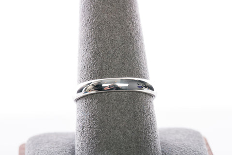 Men's 14k White Gold 3mm Band