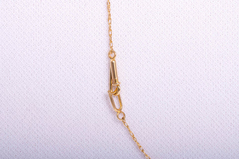 14k XOXO Gold Pendant Necklace