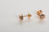 Petite 18K Screwback Stud Earrings
